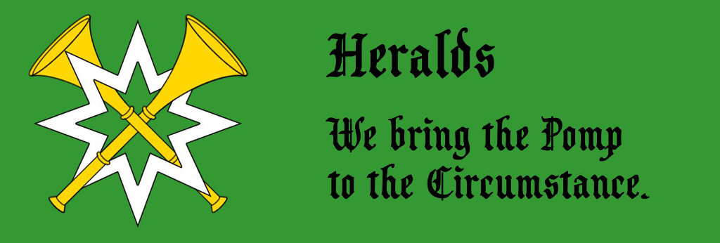 Heralds: We bring the Pomp to the Circumstance